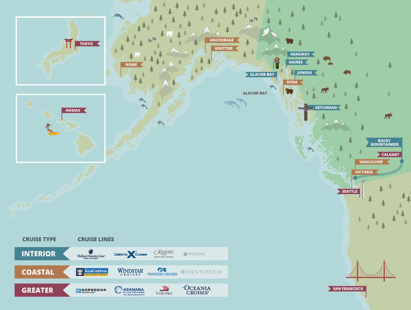 Alaska Cruise Deals | Alaska Cruise Holidays | IgluCruise