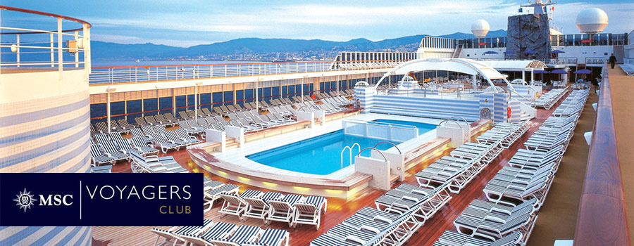 msc cruises voyagers club