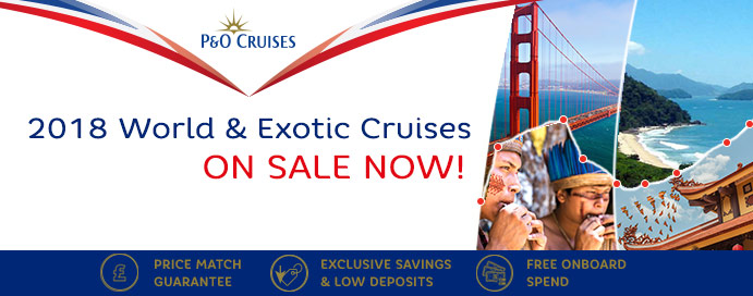 P&O World Cruises 2018