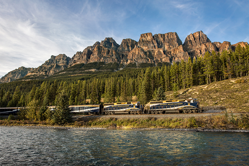 Iconic Rocky Mountaineer