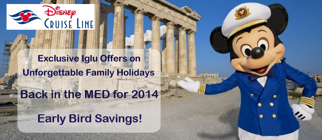 Disney Med 2014 Cruises