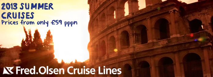 Fred Olsen Summer Cruises Sale
