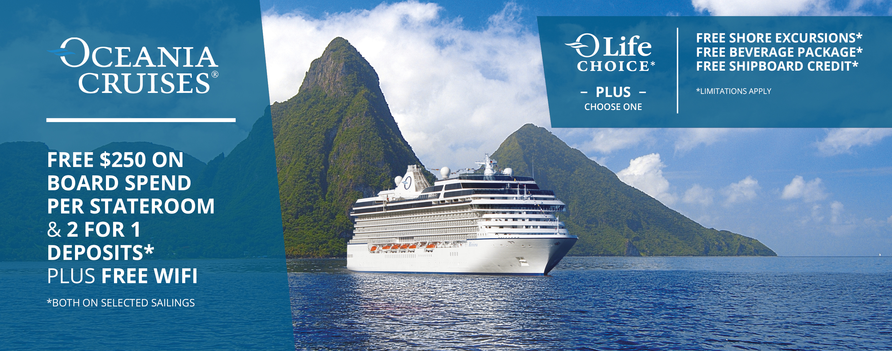 Last minute deals oceania cruises - Coupon code rocky