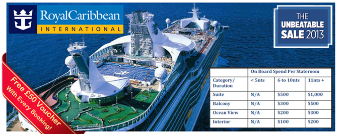 Royal Caribbean Adventure of the Seas Deals