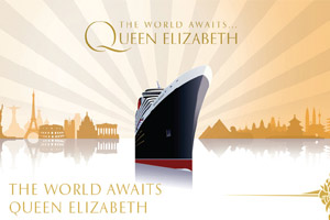 Cunard's Latest Queen named by The Queen