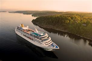 P&O Cruises Take Delivery Of Former Princess
