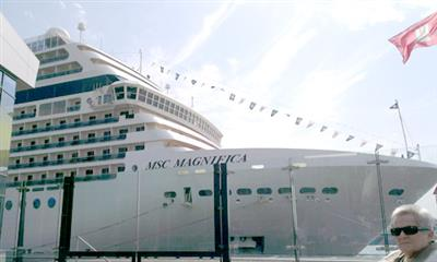 MSC Magnifica Bow