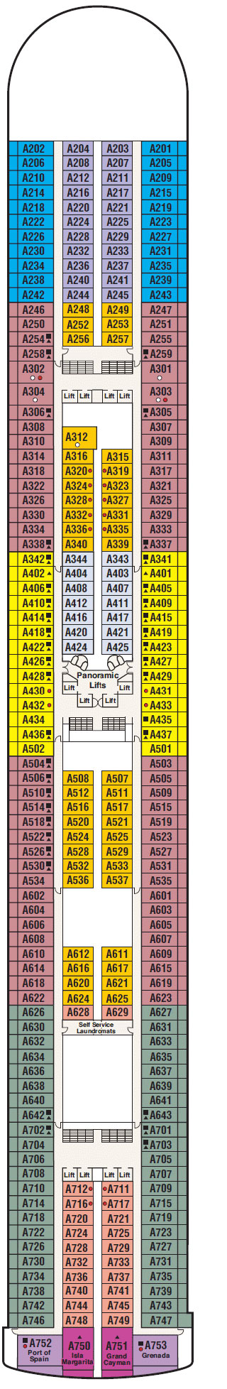 Ruby Princess Riviera Deck Plan Pictures Of Cabin R411 On