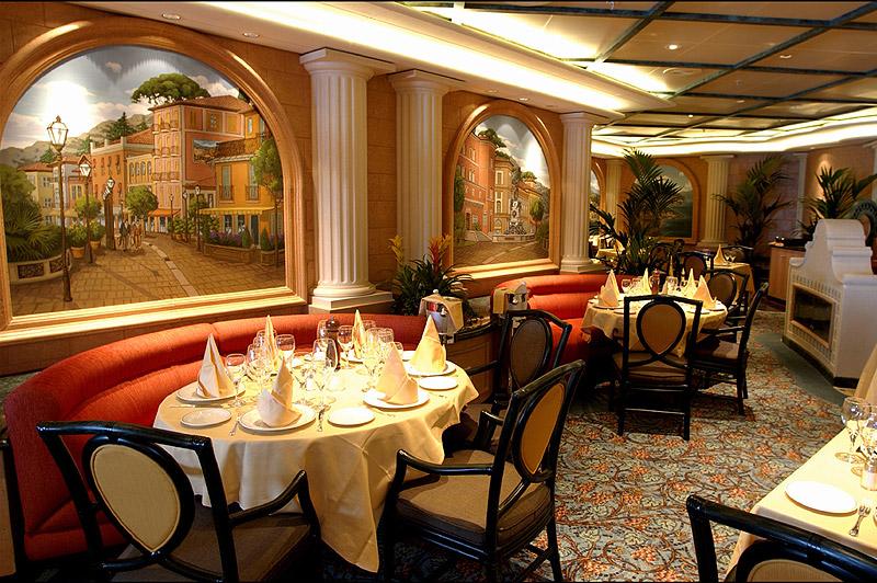 """Интерьер кафе в итальянском стиле фото """" современный дизайн."""