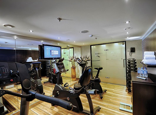Avalon fitness room