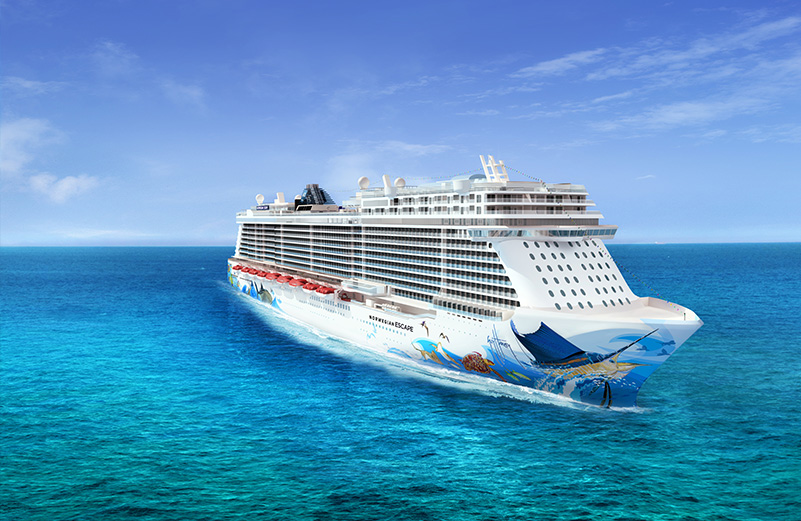 Eastern Caribbean From Miami  9 Nt  Norwegian Escape  19th January 2018