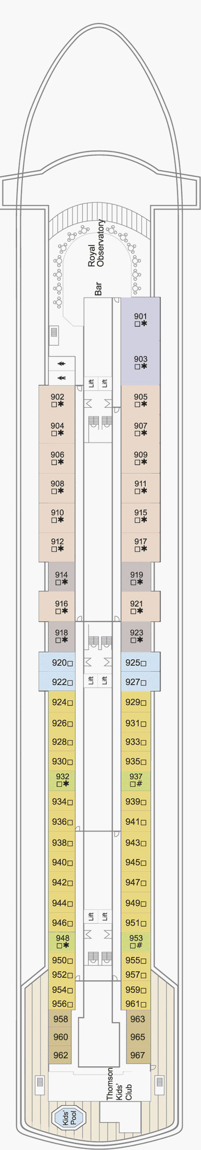 Thomson Majesty Cruise Ship Deck Plan Fitbudha Com