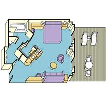 Diamond_Suite with Balcony Plan