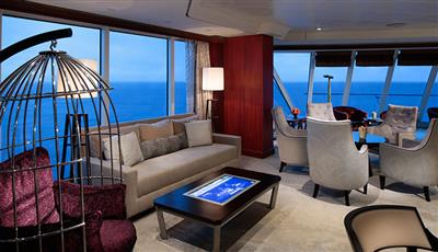Azamara Club Cruises Living Room
