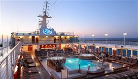 Azamara Club Cruises Top Deck Pool