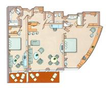 Royal Suite Plan