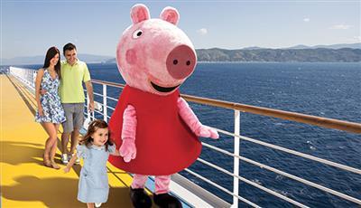 peppa pig on board