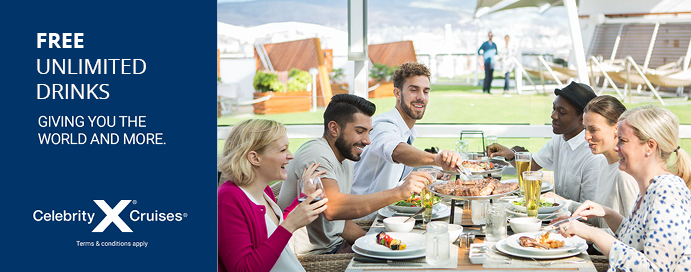 Celebrity Cruises Free Unlimited Drinks Wifi For 2019 2020 Iglucruise