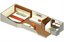 Celebrity Eclipse cabins