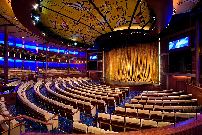Celebrity Solstice Cruise Ship Interior Common Areas