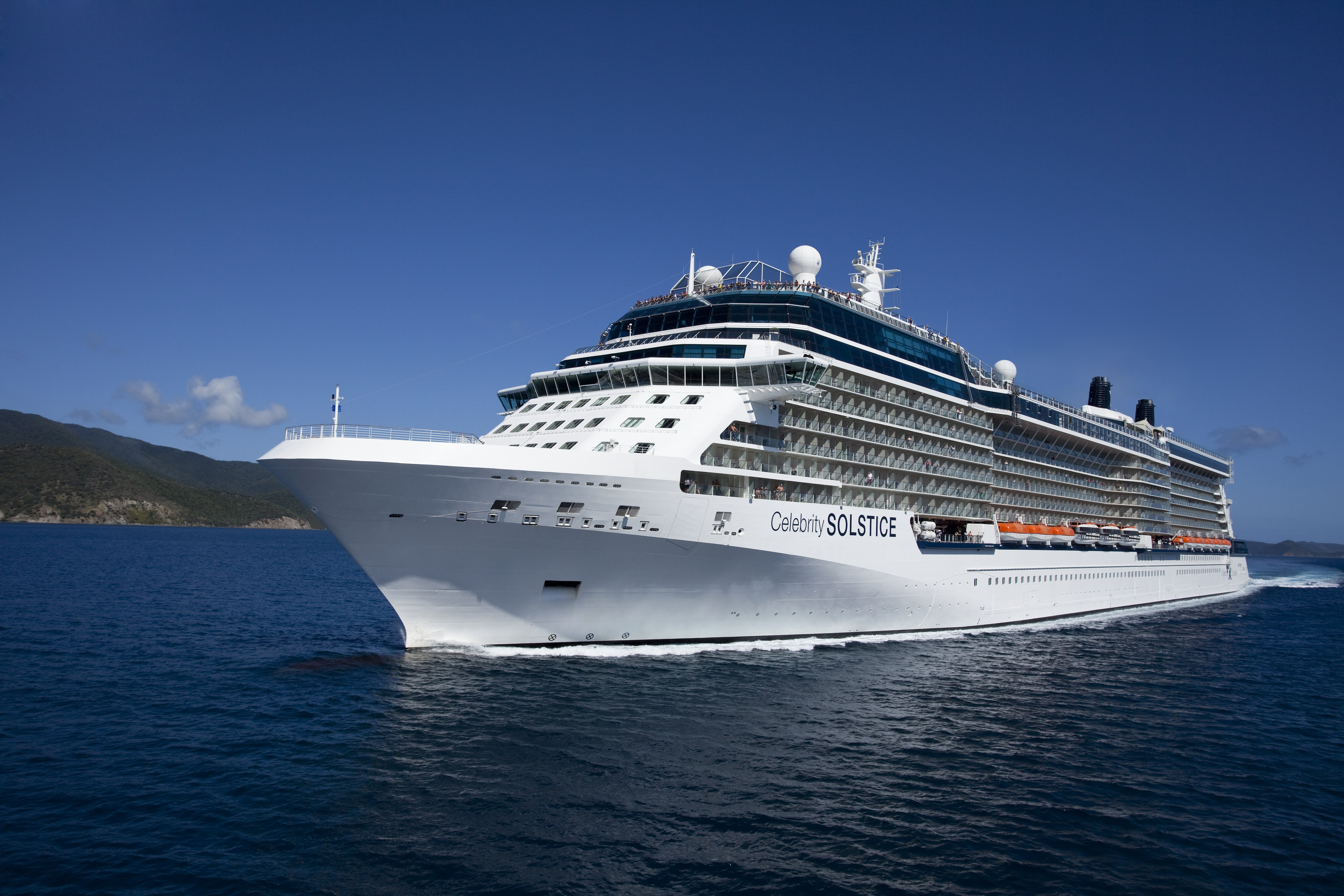 Celebrity solstice cruise ship statistics