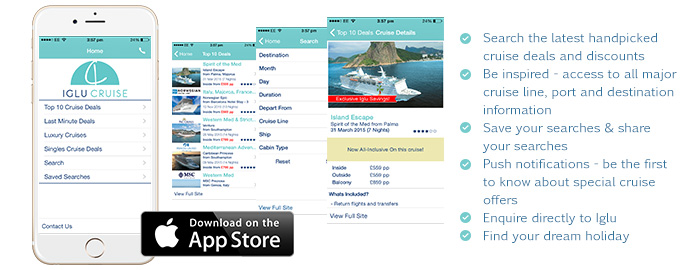 iglu cruise search app