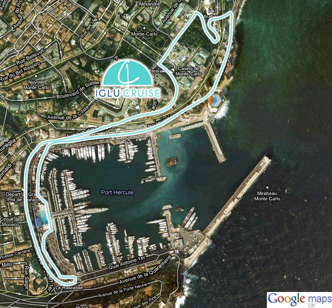 Monaco F1 Grand Prix Crusie