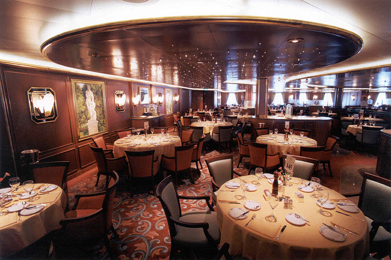 Golden Princess Donatello Dining Room
