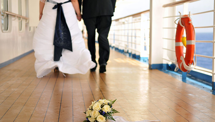 wedding cruise onboard