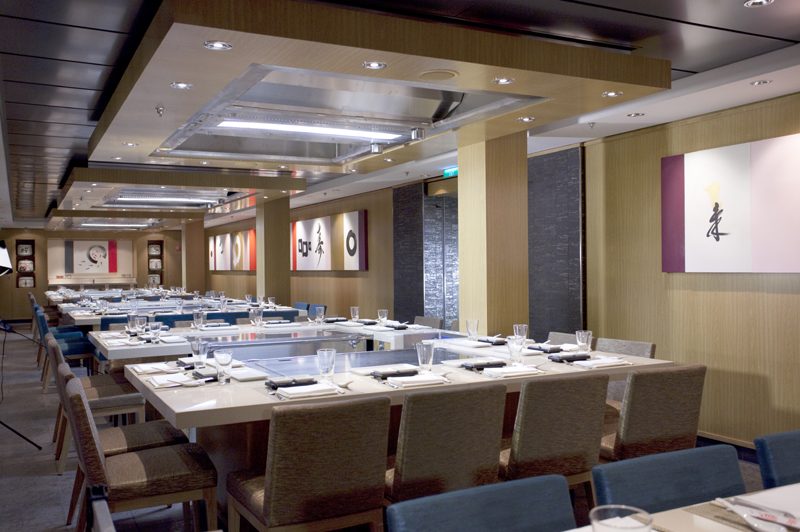 Norwegian Cruise Lines freestyle dining venues