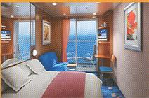 Norwegian Gem cabins