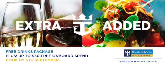 royal caribbean cruises free spend