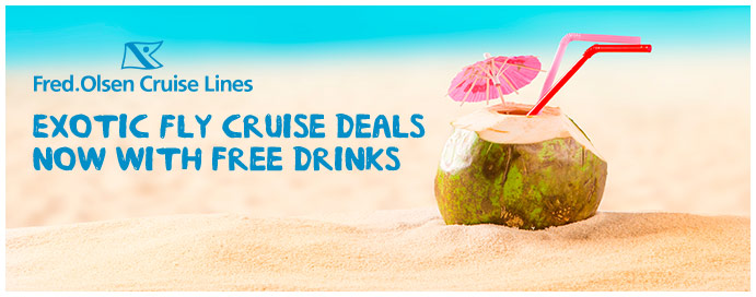 fred olsen cruise line free drinks