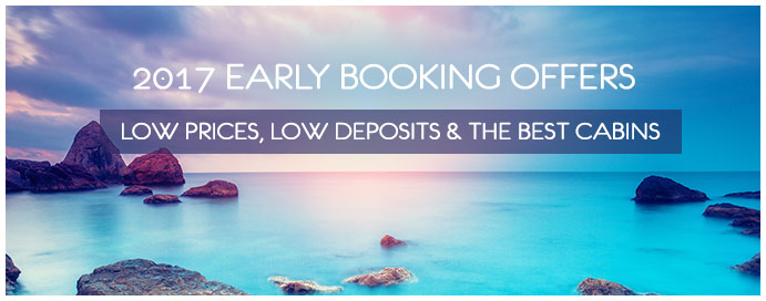 2017 early booking cruise offers