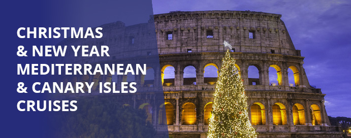 Christmas and New Year Med cruises