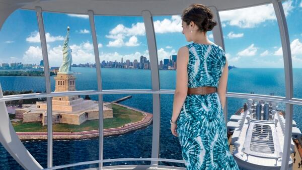 Quantum of the Seas - North Star viewing pod