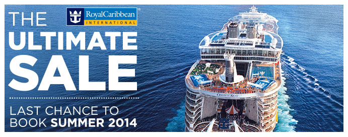 Royal Caribbean 2014 Sale Cruises