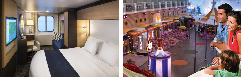 Royal Caribbean Accommodation