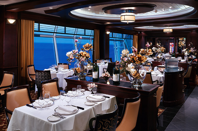 dining onboard royal caribbean