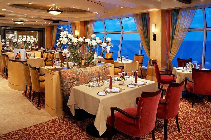 dining with royal caribbean