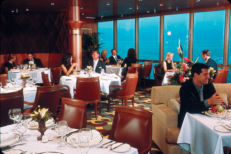 Dining onboard a royal caribbean cruise royal caribbean for Table 52 brunch dress code