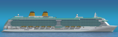 P&O Cruises' new ship